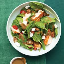 Home Trends Dishes by Spinach Salad With Salmon