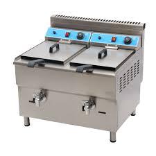 marchef 34l double tank professional kitchen equipment double