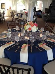 Wedding Reception Centerpieces Navy Blue Wedding Reception Decorations 1238