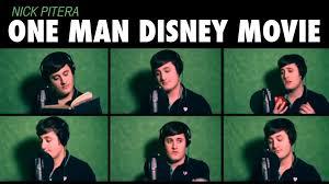 one man disney movie