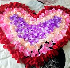 Romantic Bedroom Ideas With Rose Petals Online Buy Wholesale 5000 Silk Rose Petals From China 5000 Silk