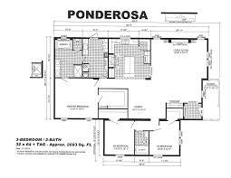 Ponderosa Floor Plan Ponderosa Uncle Roy U0027s Mobile Home Sales
