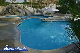 swimming pool design gallery swan pools custom designs a