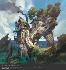 Artist House by Image Ashdale Player House Concept Art Jpg Runescape Wiki