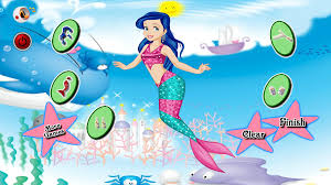 mermaid princess girls games android apps google play