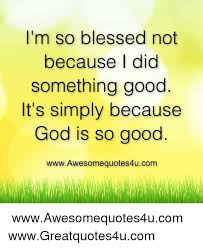 Blessed Meme - i m so blessed not because i did something good it s simply