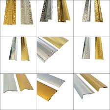 Laminate Floor Door Strip Carpet And Flooring Door Bar Threshold Metal Strips 3ft U0026 9ft
