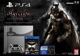 batman arkham knight amazon black friday batman arkham knight limited edition ps4 console revealed