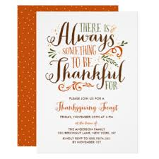 vintage thanksgiving invitations announcements zazzle