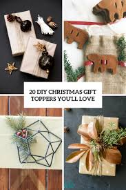 20 diy christmas gift toppers you u0027ll love shelterness