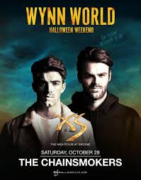 the chainsmokers at xs nightclub on saturday october 28 galavantier