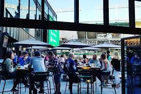 cubs owners u0027 new open air restaurant bar opens today at wrigley u0027s