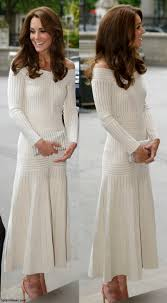 duchess kate kate in off the shoulder barbara casasola dress for