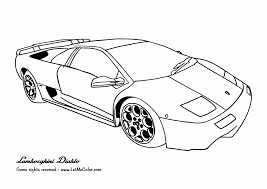 cartoon lamborghini lamborghini car coloring pages coloring page for kids kids coloring