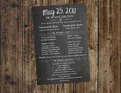 Chalkboard Wedding Program Template Mini Chalkboard Wedding Table Numbers Easel Table By Smccathie
