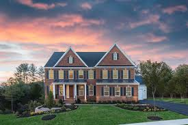 what is an open floor plan new stratford hall home model at the reserve at marbury chantilly