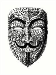 anonymous mask ornate anonymous mask prints by bioworkz redbubble