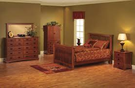shaker bedroom furniture style decorating ideas brown leather