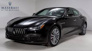 black maserati cars 2018 maserati ghibli for sale near west chester pennsylvania