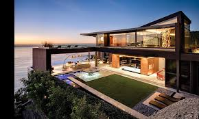 contemporary beach house interior design decor image on