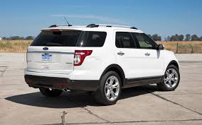 Ford Explorer Build - 2012 ford explorer limited 4wd editors u0027 notebook automobile