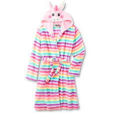 Unicorn Clothes For Girls Joe Boxer U0027s Plush Robe Unicorn