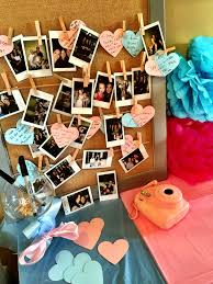 garden party baby shower ideas aw i should do this at my baby shower w my polaroid camera