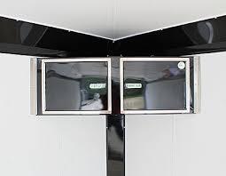 v nose enclosed trailer cabinets neo trailer cabinets