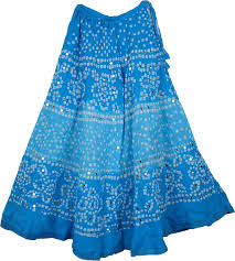 cotton skirt blue indian tie dye cotton skirt sequin skirts sale on bags