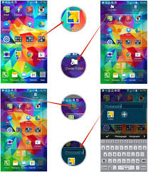 how to move icons make folders and adjust home screen widgets on