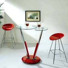 red pub table and chairs modern bar table modern bar table sets style with round tall chrome