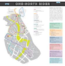 Singapore Subway Map by One North Rider Map Land Transport Guru