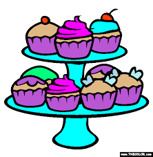 cupcakes coloring page colorings made by me pinterest