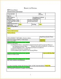 construction proposal template word business proposal templated