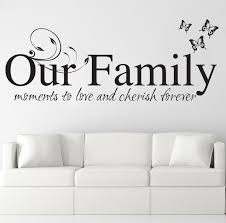 our family wall stickers art decals quotes w48 ebay please use the dropdown tab at the top of the page to select your colour and size requirements