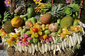 greenpeace fruits and vegetables at pahiyas festival in the