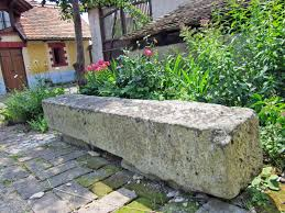 stone garden bench plans home outdoor decoration