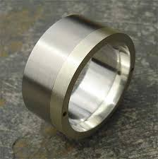 Stainless Steel Wedding Rings by Chunky Gold U0026 Stainless Steel Mens Wedding Ring Love2have In The Uk