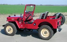 dark green jeep cj the cj3a page serial number database