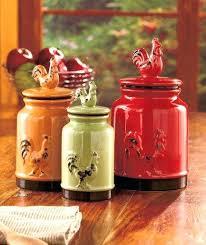 best kitchen canisters best red kitchen canisters ideas on vintage glass canister set