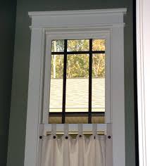 modern window trim ideas