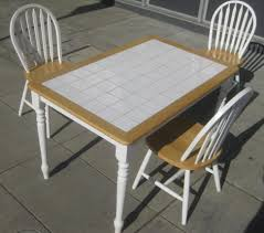 home design tile top table and chairs tile top dining table and