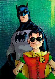 batman robin laseraw deviantart