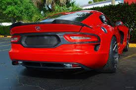 Dodge Viper Race Car - dodge viper gen 5 rear spoiler cf ss vette