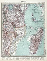 Map Of Northern Africa by Tanganyika Mandate