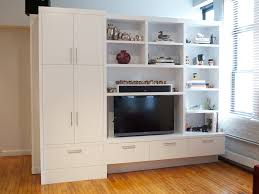 Built In Wall Shelves by Built In Tv Wall Home Planning Ideas 2017