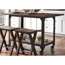 liberty furniture caldwell counter height kitchen island with