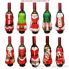 et intégrité de thanksgiving apron wine bottle cover