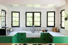 What Color Kitchen Cabinets Go With White Appliances Green Kitchen Cabinets With Black Countertops What Color Go Ikea