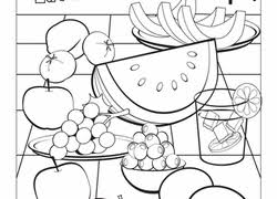 food coloring pages u0026 printables education